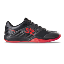 Salming Viper 5 Shoe Men Gun Metal / New Flame Red
